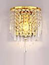 moderna kreativa ledde K9 kristall vägglampor med brytare vardagsrummet sovrummet sänglampa trappor hall armatur