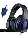 Sades SA-907 Casques (Bandeaux)ForLecteur multimedia/Tablette OrdinateursWithAvec Microphone DJ Reglage de volume Radio FM Jeux Des