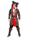 Costume Cosplay / Costume petrecere Pirat Festival/Sărbătoare Costume de Halloween Fucsia SolidGeacă / Vârf / Pantaloni / Mai multe