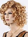 longs boucles synthetiques perruques brunes blondes bon marche couleur OMBRE perruque synthetique chaleur amicales
