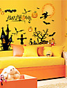 Deco Art Contemporan Autocolant Geam,PVC a vinyl Material fereastra de decorare