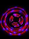 15W E14 Lampes Horticoles LED Tube 300 SMD 5050 1300LM lm Rouge Bleu Decorative Etanches DC 12 V 1 piece