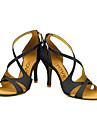 Chaussures de danse(Noir / Bleu / Rouge / Argent / Or) -Personnalisables-Talon Personnalise-Paillette Brillante-Latine / Salsa