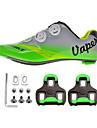 Chaussures Velo / Chaussures de Cyclisme Unisexe Exterieur / Velo de Route Baskets Amortissement / Coussin Vert / Gris-sidebike