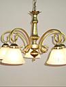 40W Hängande lampor ,  Traditionell/Klassisk Målning Särdrag for Ministil Snäcka/SkalLiving Room / Bedroom / Dining Room / Sovrum /