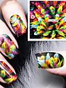manikyr dekal japansk harajuku vattenstämpel klistermärken qq fototerapi nagellack lim Tillbehör dekaler