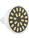 5W GU5.3(MR16) Spot LED MR16 24 SMD 5733 400-500 lm Blanc Chaud / Blanc Froid Decorative AC 100-240 / AC 110-130 V 1 piece