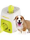 Hundleksak Husdjursleksaker Boll Interaktivt Matautomat Tennisboll Grön Plast