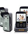Kivos kdb302 accueil sans fil video interphone sonnette anti tamper alarme camera lock