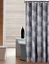 Modern Polyester 100*200cm ( L x W )  -  Hög kvalitet Duschdraperi