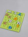 Moule en silicone fondant 26 forme de lettre anglaise pour gateau fondant outils de decoration au chocolat fimo argile couleur du moule aleatoire