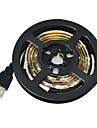 Jiawen usb 60 SMD3528 fraiche 1m LED blanche lumiere de bande impermeable a l\'eau - blanc