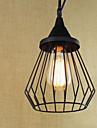 Lampe suspendue ,  Retro Rustique Peintures Fonctionnalite for LED MetalSalle de sejour Chambre a coucher Salle a manger Salle de bain
