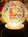Lampe de table-Nouveaute-Plastique-LED