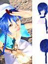 Costumes Cosplay MAGI Cosplay Bleu Long Anime Perruques de Cosplay 80CM CM Fibre resistante a la chaleur Unisexe