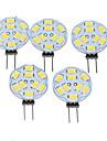 5W G4 LED-spotlights MR11 9 SMD 5730 360-450 lm Varmvit Dimbar DC 12 / AC 12 V 5 st