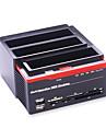 multi-fonctions hdd docking 2,5 3,5 ide sata disque dur boitier USB2.0 dur boitier de disque HDD couleur aleatoire
