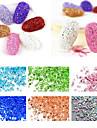 1bag nagel konst Decoration Strass Pearls skönhet Kosmetisk nagel konst Design
