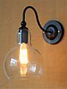 ac 110-130 / ac 220-240 40w e26 / e27 contemporaine fonction de finition moderne / oxyde noir pour bras oscillant / ampoule incluse,