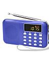 y-896 lecteur radio portable pour les personnes agees