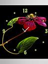 Carre Moderne/Contemporain Horloge murale , Autres Toile40 x 40cm(16inchx16inch)x1pcs/ 50 x 50cm(20inchx20inch)x1pcs/ 60 x