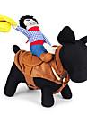 Hundar Dräkter/Kostymer Flerfärgad Hundkläder Sommar / Vår/Höst Tecknat Gulligt / Cosplay / Cowboy
