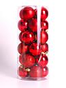 moderne noel arbre de noel boules decorations  fete de mariage ornement 24pcs 4cm