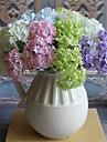 3 Gren Silke Hortensior Bordsblomma Konstgjorda blommor 32CM