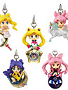 Sailor Moon Princess Serenity PVC 5cm Anime Actionfigurer Modell Leksaker doll Toy
