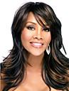 mettre en evidence noir couleur brun mode chaleur elegante beaute perruques resistants de haute qualite