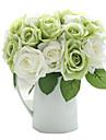 9 Une succursale Soie Roses Fleur de Table Fleurs artificielles 24(9.5\'\')