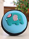 djur form sluten resor hörlurar förändring förvaringsbox (slumpvis färg)
