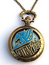 Klocka/Armbandsur Inspirerad av Fairy Tail Eren Jager Animé Cosplay Accessoarer Klocka/Armbandsur Guld Legering Man