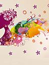 Mode / Floral / Fantaisie Stickers muraux Stickers avion Stickers muraux decoratifs / Stickers mariage,PVC Materiel AmovibleDecoration