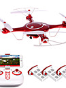 Drone SYMA 4 Canaux 6 Axes 2.4G Quadri rotor RCEclairage LED Retour Automatique Auto-Decollage Mode Sans Tete Vol Rotatif De 360 Degres