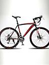 Velo Route Cyclisme 21 Vitesse 26 pouces/700CC TX30 BB8 Frein a Double Disque Sans Amortisseur Mono poutre Cadre RigideOrdinaire en