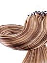 neitsi 20 \'\' 50g droites micro liens de boucle d\'anneau OMBRE extensions de cheveux 1g / s 100% cheveux remy humaine