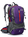 40L L Backpacker-ryggsäckar / ryggsäck Camping / Resa Utomhus Multifunktionell Gul / Röd / Svart / Blå / Purpur Terylene