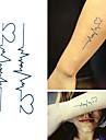 1 Tatouages Autocollants Series animales Dessin-AnimeBebe Enfant Homme Femme Tatouage Temporaire Tatouages temporaires