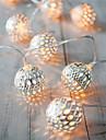 lumina de vacanță a condus benzi 20 bile lampă / set șir condus lumini pentru petrecerea de nunta zână Crăciun decorare