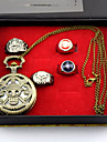Klocka/Armbandsur / Mer accessoarer Inspirerad av One Piece Monkey D. Luffy Animé Cosplay Accessoarer Klocka/Armbandsur / Ring Guld