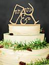 Lemn Decoratiuni nunta-1 buc / Set Primăvară Vară Toamnă Iarnă Nepersonalizat