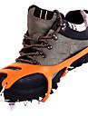 rostfritt stål stegjärn / snö is grab / is klätterskor / arton tänder snö klo