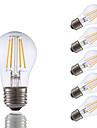 3.5 E26 LED-glödlampor A15 4 COB 350 lm Varmvit Dimbar AC 110-130 V 6 st