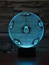 mörkläggning 3D LED nattlampa 7colorful dekoration atmosfär lampa nyhet belysning jul ljus