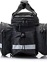 Sac de VeloSac de Porte-Bagage/Double Sacoche de VeloBande reflechissante Etanche Reflechissant Vestimentaire Resistant aux Chocs