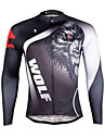 ILPALADINO Maillot de Cyclisme Homme Manches longues Velo MaillotSechage rapide Resistant aux ultraviolets Respirable Materiaux Legers