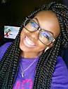3x boite tressee dentelle devant perruques pour les femmes noires en dentelle synthetique perruque avant naturelle expression noir
