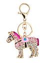 den nya hästen hett mode väska handväska nyckelring ma bil set skruv nyckelring spänne hängande gåva