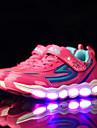 Fille-Sport-Vert Rose Bleu royal-Talon Plat-Confort Light Up Chaussures-Baskets-Polyurethane